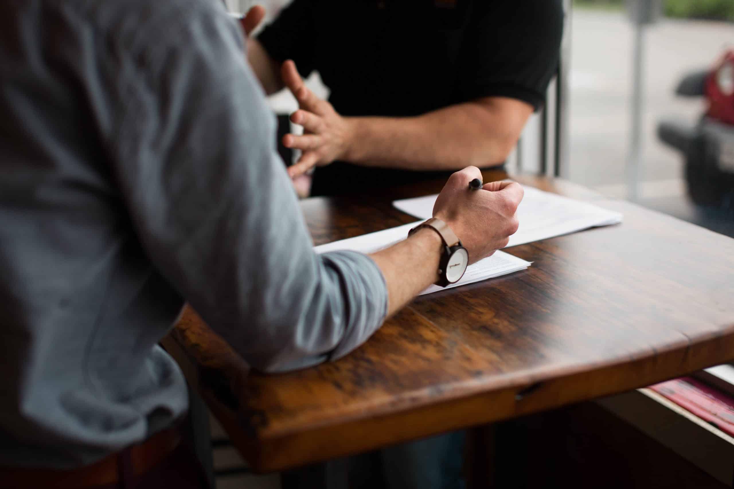 Een interview geeft je inzicht in het doen en laten van je persona