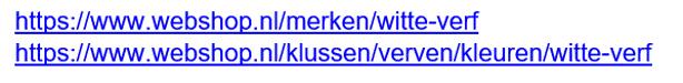 Binnen een webshop kan interne duplicate content voorkomen