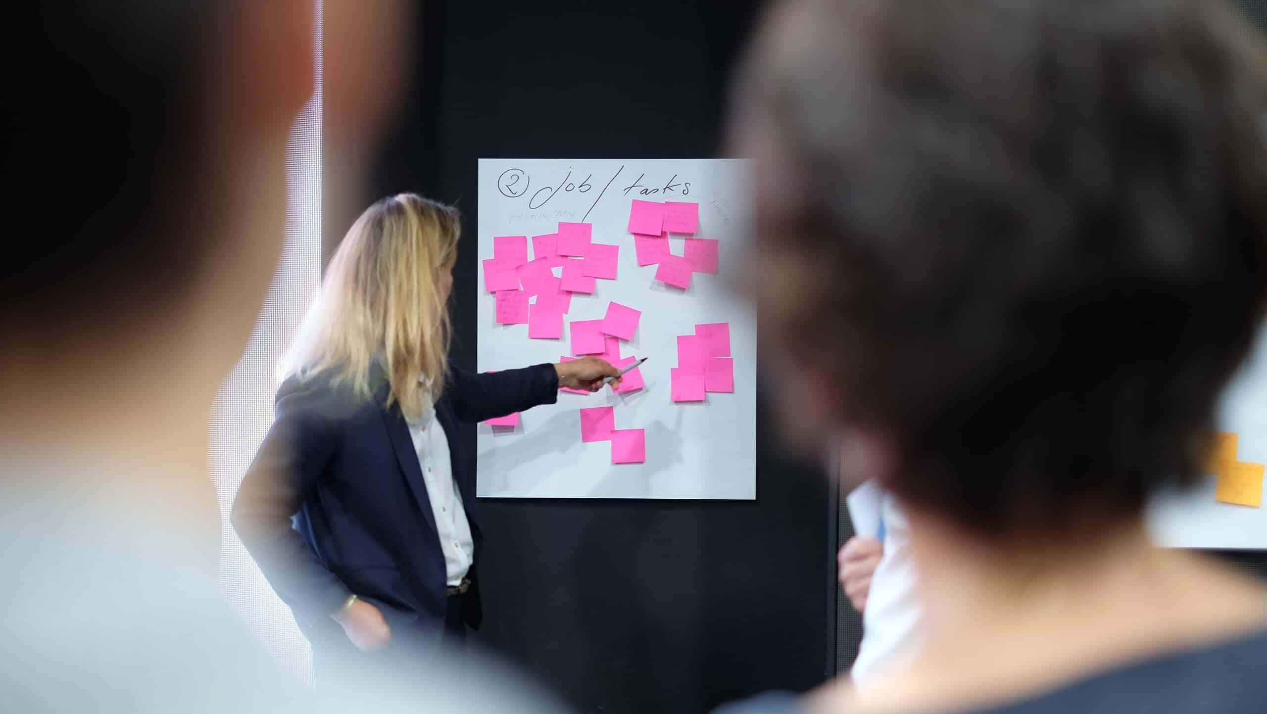 Voor een complete SWOT-analyse heb je verantwoordelijken voor elke afdeling in je onderneming nodig