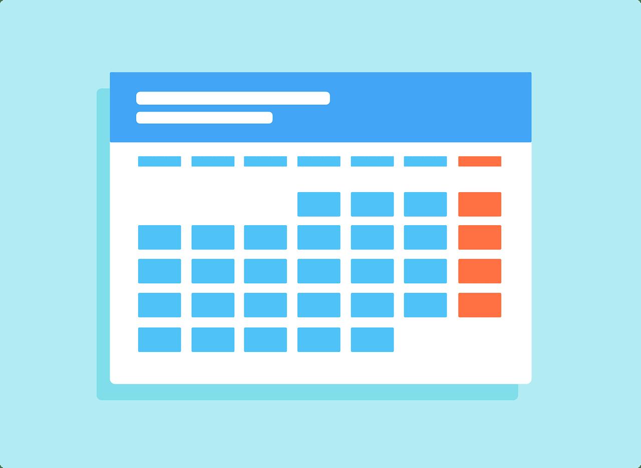 content plannen kalender 3H model