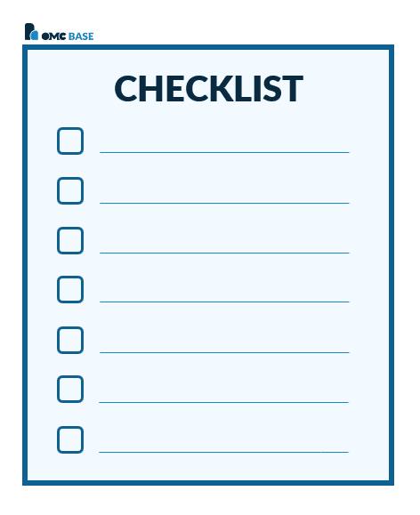 checklist omcbase